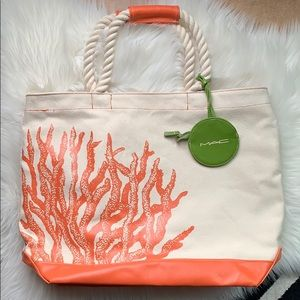 MAC Cosmetics To The Beach 2010 Large Tote Bag